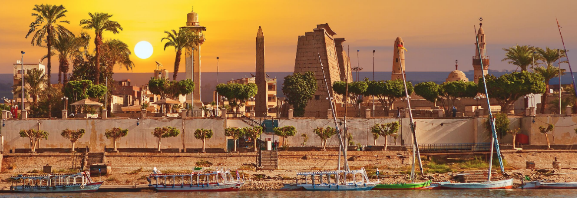 Sunset of egypt
